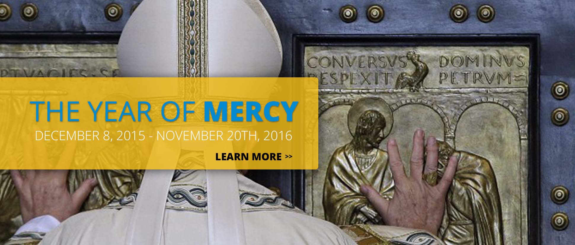 Opening the Year of Mercy