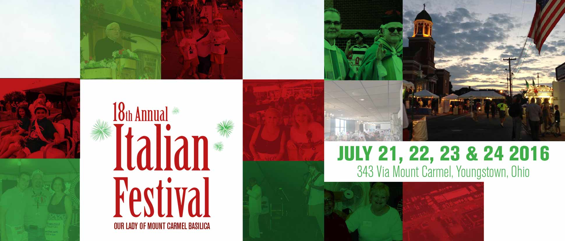 2016 Italian Fest - Our Lady of Mount Carmel Basilica in Youngstown, OH