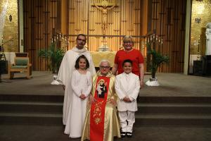 2017-04 First Communion at St Anthony